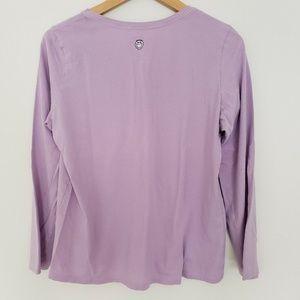 Life Is Good Tops - Womens Life is Good Medium Shirt Purple Snow